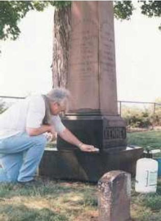Click to find out more about Pamphlet On How to Clean Gravestones